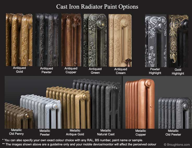 The Montpellier Cast Iron Radiator Broughtons Of